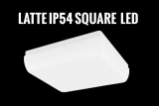 Advanteges of LED - LATTE IP54 SQUARE LED