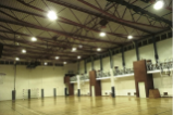 LED luminaires, complexes sportifs